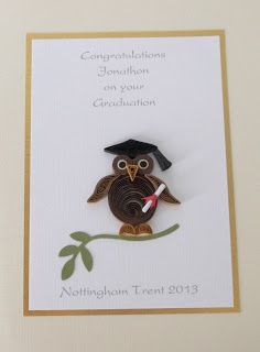 Paper Daisy: Quilled graduation cards