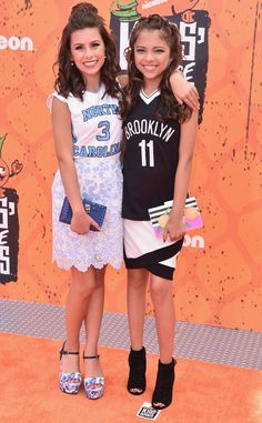 Madisyn Shipman & Cree Cicchino from 2016 Kids' Choice Sports Awards Red Carpet Arrivals  OMG! How adorable do these two ladies look?!
