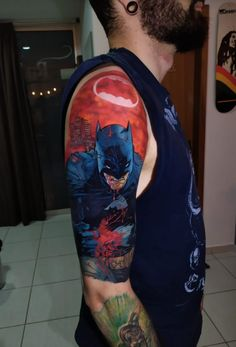 Geek tattoo: faça tatuagens geeks com quem entende! - Blog Tattoo2me Estilo Geek, Vera Bradley Backpack, Geeks, Geek Stuff, Tattoos, Bags, Fashion, Comic Book Characters, Get A Tattoo
