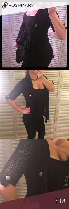 Black cardigan, Size S Black cardigan, Size S Tops