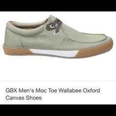 GBX Men's Moc Toe Wallabee Oxford Canvas Shoes GBX Men's Moc Toe Wallabee Oxford Canvas Shoes GBX Men's Wallabee Oxford  Shoes Flats & Loafers