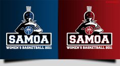 Sports Logo Designed for Samoa Women's Basket Ball Team. This is to feature on their Uniform and Jackets.