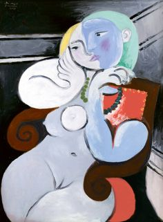 Pablo Picasso - Nude Woman in a Red Armchair, 1932. Oil on canvas