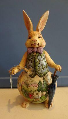 Jim Shore Welcome Spring Rabbit