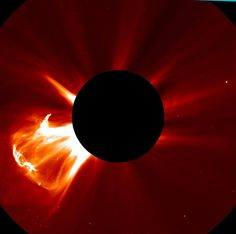 Solar flare — Meio sem querer Quase sem... | panic monday