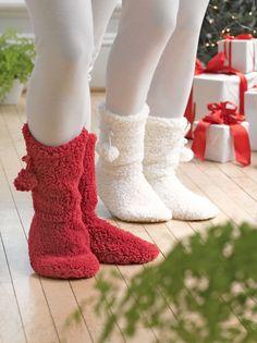 Fleece Socks: Snuggle Socks   Gardener's Supply