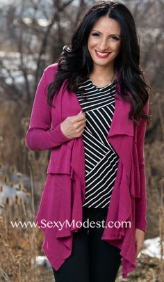 www.SexyModest.com #spring #cardigan #clothes #fashion #shopping #boutique #style #modest Follow us on Instagram @modestshoppin