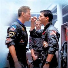 "Top Gun- infinitely quotable to this day.  ""Hey Mav, you still got the number of that truck driving company?""  Memories of Girlfriend Number One run through my head every time I hear that cheesy breathey song."