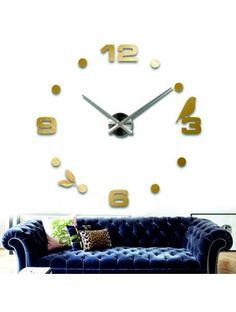 Klebstoff-Wanduhr mit goldenen Zahlen Artikel-Nr.: 12S006-GOLD-S-COLOR** Zustand: Neuer Artikel Verfügbarkeit: Auf Lager Wählen Sie eine Farbe selbst! Die Zeit ist gekommen, viel mehr gemütlich realít neue Uhr. 3D große Wanduhr ist eine schöne Dekoration von Ihrem Interieur. Du wirst es nie zu spät.