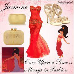 Disney Style: Jasmine (2), created by trulygirlygirl on Polyvore