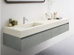 Corian® washbasin countertop MOODE | Corian® washbasin countertop - Rexa Design