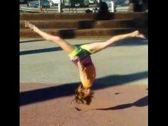 Gymnastics: How To Do A Front Aerial With Coach Meggin! (Professional Gymnastics Coach) - YouTube