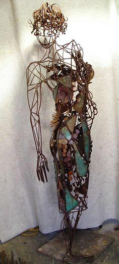 Full Bloom. (sold sculpture)