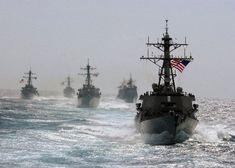 US NAVY SHIPS | Background Wallpaper Image: US Navy Ships At Sea