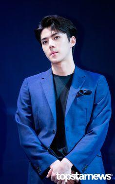 Sehun - 160608 Third Regular Album 'EX'ACT' comeback press conference