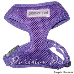 Parisian Pet Freedom Dog Harness, X-Large, Purple * Additional details at the pin image, click it  : Leashes for dogs