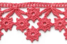 amazing site for Crochet & Knitting patterns. I particularly love the crochet edging patterns. Crochet Edging Patterns, Crochet Motifs, Crochet Borders, Thread Crochet, Crochet Trim, Knit Or Crochet, Crochet Crafts, Crochet Hooks, Stitch Patterns
