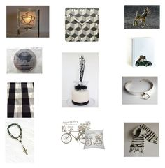 """""""Shades of grey gift ideas"""" by einder ❤ liked on Polyvore featuring interior, interiors, interior design, home, home decor, interior decorating and vintage"""