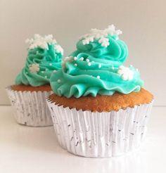 Sucre: Cupcakes navideños de piña y ron, y SUPER SORTEO con The Sweetest Taste!!