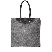calabrese tweed tote bag #fashion