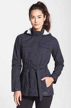 Merrell+'Gamma'+Mid+Length+2.5L+Waterproof+Rain+Jacket+available+at+#Nordstrom