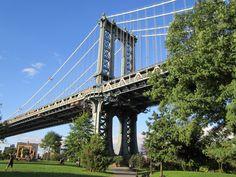 Beautiful parks under the bridges