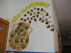 trabalhos sobre o sao martinho - Pesquisa do Google: Pre School, Back To School, Activities For Kids, Crafts For Kids, Carina, Techno, Classroom, Education, Halloween