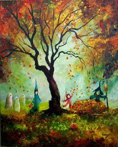 An autumn chill...