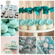 Tiffany Blue, Tiffany Theme, Tiffany Party, Tiffany Wedding, Cupcake Wedding Favors, Blue Wedding Favors, Wedding Desserts, Wedding Decor, Wedding Themes