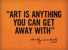 andy warhol quote about Art