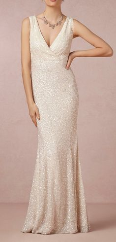 I'm not getting married but I LOVE this gown! Candence Gown in Bride Wedding Dresses at BHLDN
