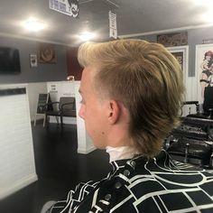 Mullet Haircut, Mohawk Mullet, Mullet Hairstyle, Style Hairstyle, Fade Haircut, Undercut Men, Undercut Pompadour, Men's Hair, Hair Art