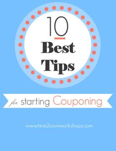 Help Save Money with Coupons | 10 Best Tips for Beginners