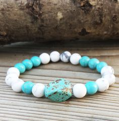 Check out this item in my Etsy shop https://www.etsy.com/uk/listing/249614274/bohemian-bracelets-turquoise-bracelets