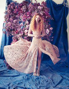 Hardwick by Mariana Hardwick Lace Dress, Nicholas Kirkwood Heels from Miss Louise
