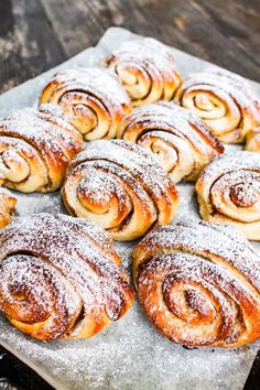 Bread Recipes, Baking Recipes, Dessert Recipes, Desserts, Outfits Tipps, Baked Doughnuts, Swedish Recipes, Sweet Pastries, Recipes From Heaven