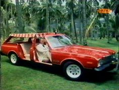 The Customized Plymouth Volare used in the Fantasy Island TV series which aired from 1977 - Famous Movie Cars, Dodge Aspen, Convertible, Flower Car, Fantasy Island, Great Tv Shows, Unique Cars, Station Wagon, Car Pictures