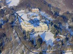Alfred Krupp ließ die Villa Hügel zwischen 1870 und 1873 im Essener Süden errichten.