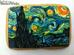 Van Gogh's Starry Night     www.facebook.com/ButterWinks  http://butterwinks.tumblr.com/  https://twitter.com/ButterWinks