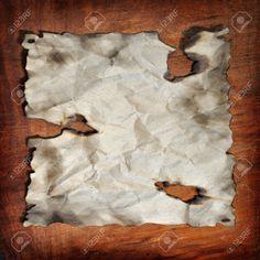 das Papier das Holz das Feuer