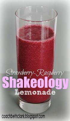 Body+Remodel:+Fuel+Your+Body+Friday+-+Pink+Lemonade+Shakeology