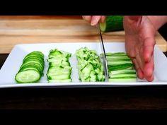 Cucumber Cutting Skills | Fruit Carving | Cucumber Food Art | Party Garnishing