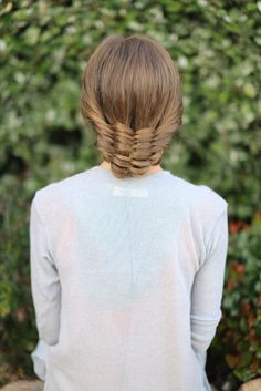 Basket Weave Updo | Cute Girls Hairstyles