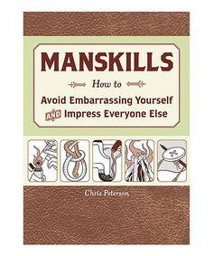 Manskills Paperback on #zulily