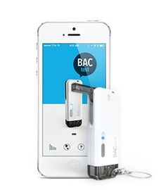 BACtrack Vio Smartphone Breathalyzer for iPhone & Android