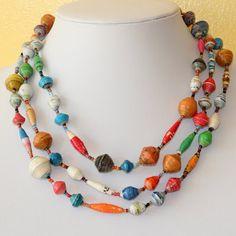 Jewelry: Pretty in paper