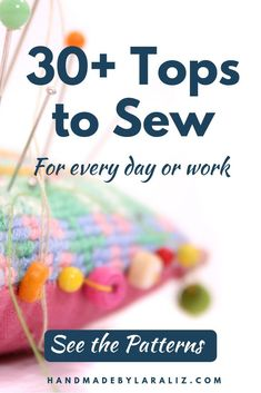 Tops Archives - Handmade by Lara Liz Sewing Hacks, Sewing Tutorials, Sewing Diy, Sew Your Own Clothes, Diy Clothes, Sewing Patterns For Kids, Pdf Patterns, Sewing Ideas, Sewing Clothes Women