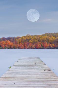 Hunter's Moon, by Evan Kokoska via 500px.