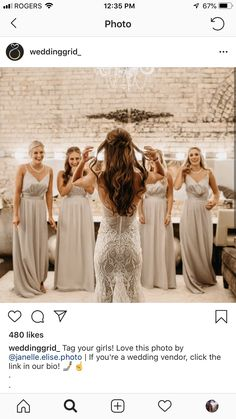 Post Wedding, On Your Wedding Day, Wedding Photos, Wedding Photo Inspiration, Bridesmaid Dresses, Wedding Dresses, Beautiful Moments, Your Girl, Wedding Vendors