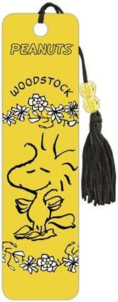 Amazon.com: Woodstock - Peanuts - Charles Schulz - Collector's Beaded Bookmark: Home & Kitchen